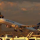 Takeoff at LAX by gfydad