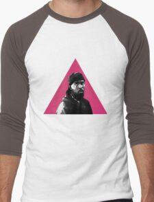 Omar Little: Silence = Death Men's Baseball ¾ T-Shirt