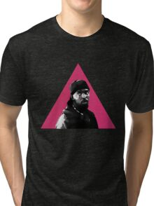 Omar Little: Silence = Death Tri-blend T-Shirt