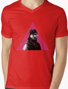 Omar Little: Silence = Death Mens V-Neck T-Shirt