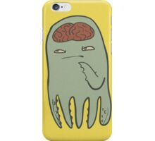 squids got brains too iPhone Case/Skin