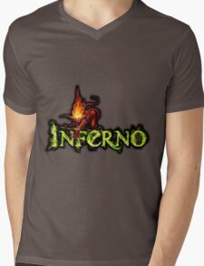 Inferno Mens V-Neck T-Shirt