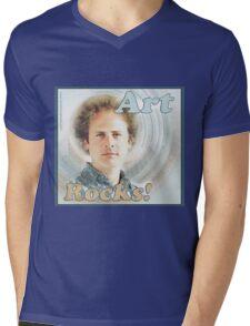 Art Rocks Mens V-Neck T-Shirt