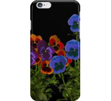 Pansy iphone case iPhone Case/Skin