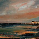 Sunset at Birling Gap by Eve Monteiro