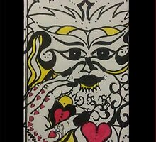 "my ""Love Guru"" iphone case by Ciska"