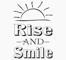Rise And Smile One Piece - Long Sleeve