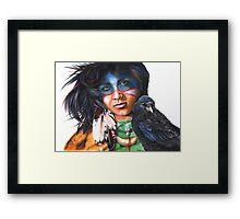 As The Crow Flies Framed Print