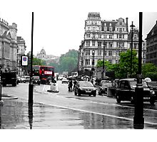 Streets of Old London Town Photographic Print
