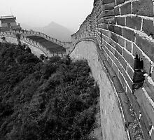 China, Juyongguan gate on Great Wall of China by Sami Sarkis