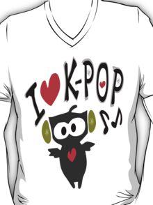 I love kpop owl vector art T-Shirt