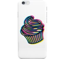 CMYK Cupcake iPhone Case/Skin
