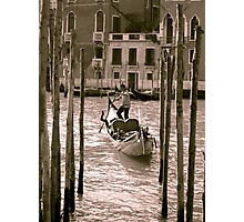 Been and Gondola Photographic Print