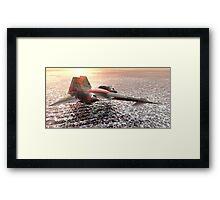 Sky Dagger Framed Print