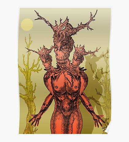 Devilish Creature Poster