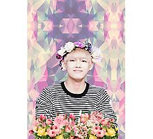 BTS/Bangtan Sonyeondan - Flower Boy Kim Taehyung Photographic Print