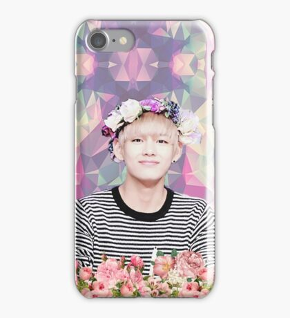 BTS/Bangtan Sonyeondan - Flower Boy Kim Taehyung iPhone Case/Skin