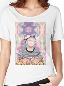 BTS/Bangtan Sonyeondan - Flower Boy Kim Taehyung Women's Relaxed Fit T-Shirt