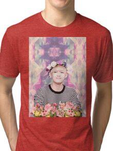 BTS/Bangtan Sonyeondan - Flower Boy Kim Taehyung Tri-blend T-Shirt