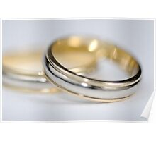 Two wedding rings Poster