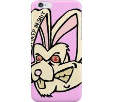 Rabbit - Pink iPhone Case/Skin