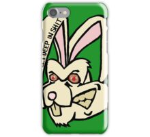 Rabbit - Green iPhone Case/Skin