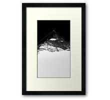 Crystal Mountain Framed Print