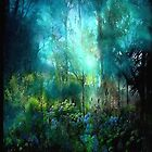 """iPhone Case """"Dreamy Woods..."""" by Rosehaven"""