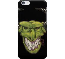 Demon - Black iPhone Case/Skin