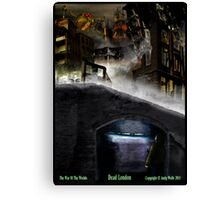Dead London Canvas Print