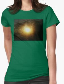 live gold 1 Womens Fitted T-Shirt