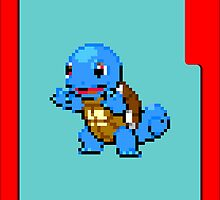 Squirtle 16bit by Ryan Wilson