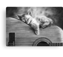 Unplugged Canvas Print