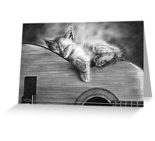 Unplugged Greeting Card