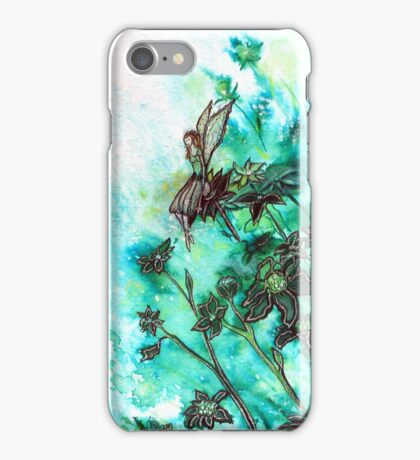 Fairy Flowers iPhone Case iPhone Case/Skin