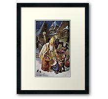 Krampus 005 Framed Print