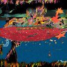 Midnight At The Pond by ltruskett