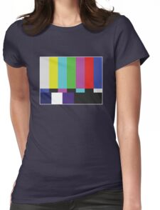 Screen Test Womens Fitted T-Shirt