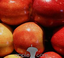 Apple Core - Red Apples by Benjamin Whealing
