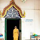 Village Monk by Marnie Hibbert