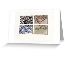 Reptile collection 1 Greeting Card