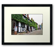 The Mermaid Inn, Rye Framed Print