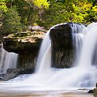 Alongside Upper Cataract Falls by Kenneth Keifer