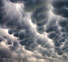 Mammatus Cloud by Carolyn  Fletcher