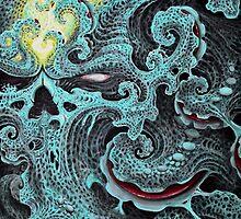 Fractal Re-birth by BlueSelwyn