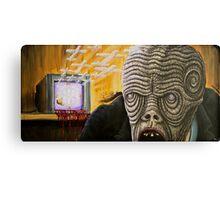 TV Zombie 2 Canvas Print