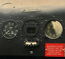 Instrument Panel Circa 1940 by Kelly Chiara