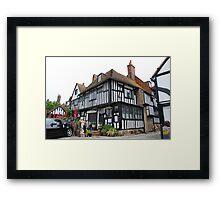 Mermaid Inn, Rye Framed Print