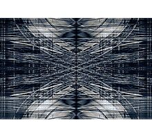 Abstract futuristic pattern Photographic Print
