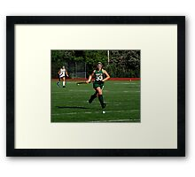 100511 180 0 field hockey Framed Print